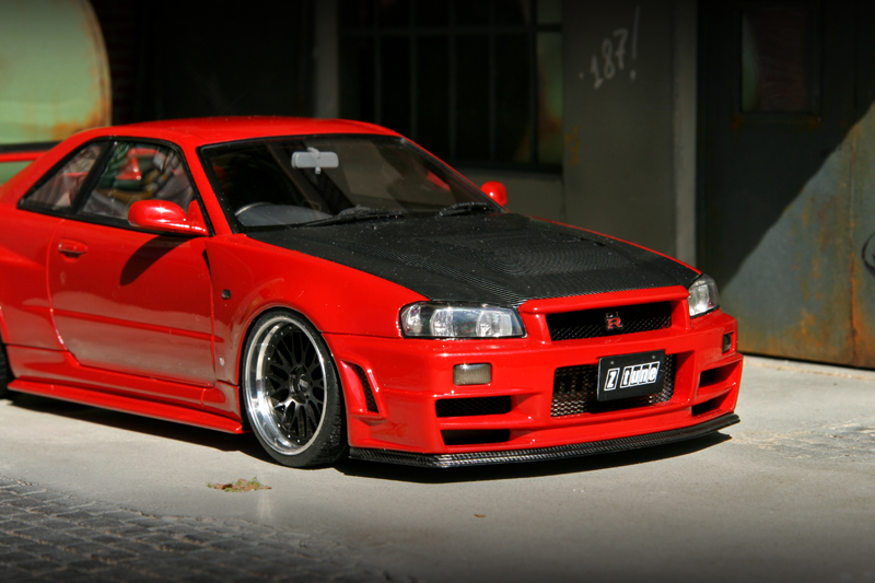 Skyline Gt R R34 Z Tune Bbs Lm Extreme 18 Tuning 1 18
