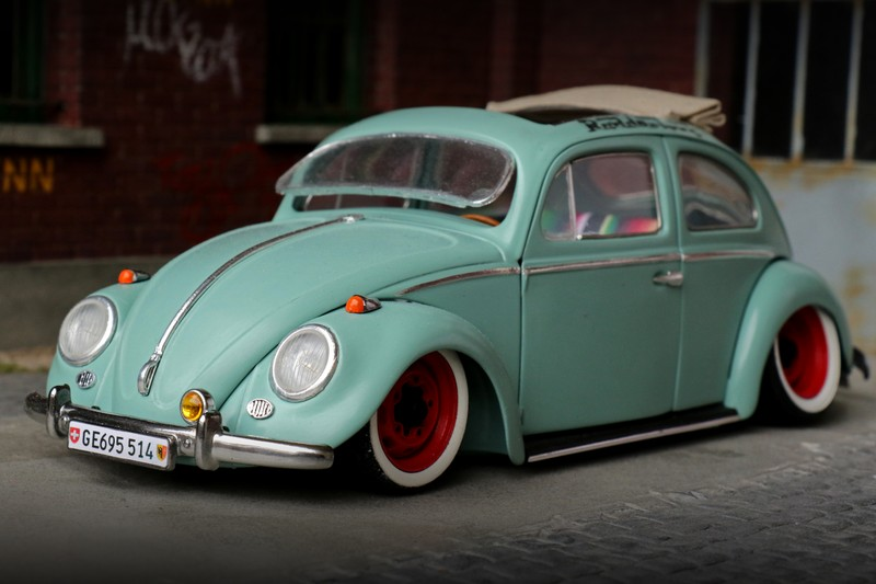 Vw Cox Ragtop 1960 Extreme 18 Tuning 1 18